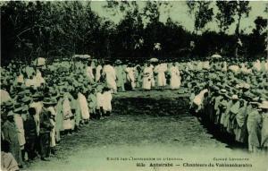 CPA Antsirabe- Chanteurs du Vakinankaratra MADAGASCAR (830012)