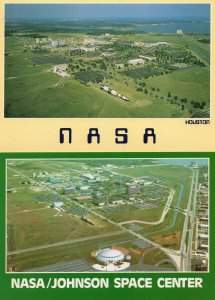 Houston NASA Space Center 2x Spectacular Aerial Postcard s
