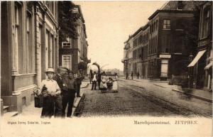 CPA ZUTPHEN Marschpoortstraat NETHERLANDS (602949)