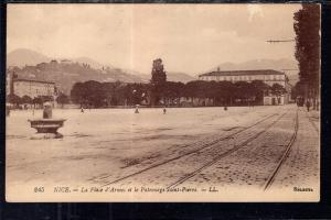 La Place d'Armes et le Patrnage Saint Pierre,Nice France BIN