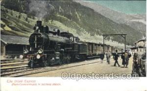 The Orient Express in Salzburg Station, Train Trains Locomotive, Steam Engine...