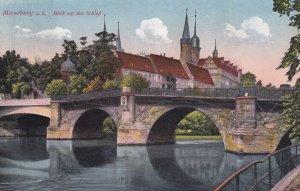 MERSEBURG, Saxony-Anhalt, Germany, PU-1935; Blick Auf das SchloB