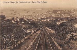 Portugal Madeira Funchal Tirado do Caminho ferro - From The Railway, railroad