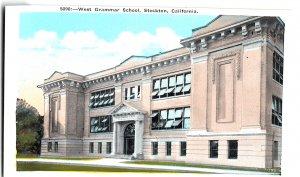5090 - West Grammar School, Stockton, California