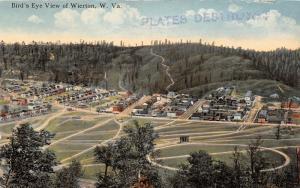 E80/ Weirton West Virginia Postcard c1910 Birdseye View Homes 16