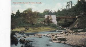 Highland Creek near TORONTO, Ontario, Canada, PU-1910