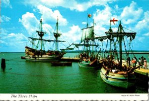 Virgina Jamestown The Three Ships Susan Constant Godspeed and Discovery