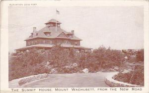 Massachusetts Mount Wachusett Elevation 2018 Feet The Summit House Mount Wach...