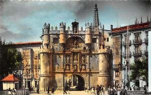 Spain Burgos Arco de Santa Maria Arch, Animated