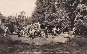 RP: King's Canadian School, Preparing the fire,  , Ontario , Canada , 00-10s