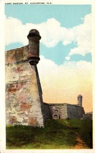 Florida St Augustine Fort Marion South East Bastion