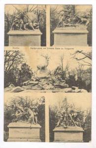 Berlin, Germany, PU-1910, Jagdgruppen am Grossen Stern im Tiergarten