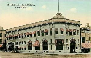 ME, Auburn, Maine, Shoe & Leather Bank Building
