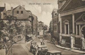 gibraltar, Church Street, Horse Cart (1910s)