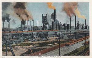 Colorado Pueblo The Minnequa Steel Works
