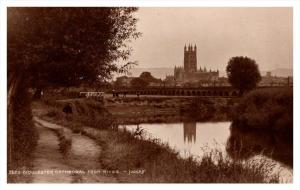 Gloucester  Cathedral  from river   RPC Judges LTD no.3620