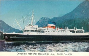 Steamship, Prince George, Canadian National Steamships, Lot of 3