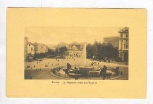 La Stazione Vista Dall' Esedra, Roma (Lazio), Italy, 1900-1910s