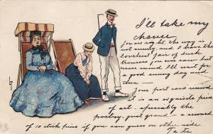 Thackeray ; I'll Take my Chance , 1905 ; TUCK #542