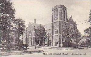 Indiana Greencastle Methodist Epsicopal Church Albertype