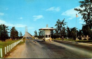 New York Thousand Islands International Bridge Approach To Toll Gate 1963