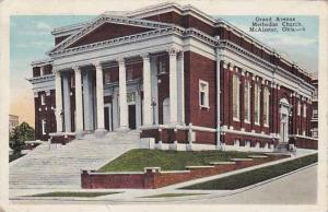 Grand Avenue, Methodist Church, McAlester, Oklahoma,  PU-1937
