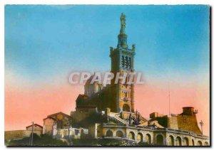 Modern Postcard Marseille Basilique Notre Dame de la Garde