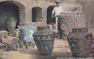 Mexico Native Potters Of Tonala 1935 Curteich sk3327