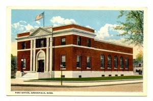 MA - Greenfield. Post Office
