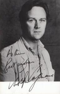 Christopher Cazenove Hand Signed Photo