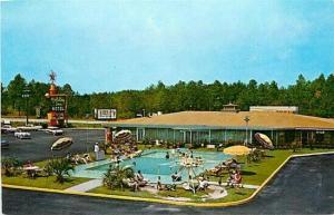 MS, Hattiesburg, Mississippi, Holiday Inn, Curteichcolor No. ODK-1296