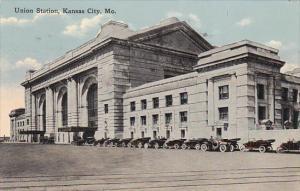 Union Railroad Station Kansas City Missouri 1916