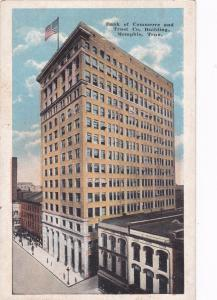 MEMPHIS, Tennessee, PU-1927;  Bank of Commerce and Trust Company Bldg