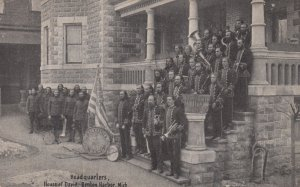 BENTON HARBOR , Michigan , 1900-10s ; House of David Headquarters , Band