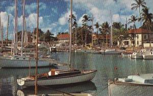 Hawaii Maui Picturesque Harbor At Lahaina
