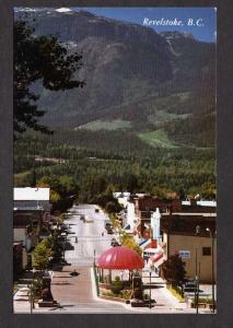 BC View REVELSTOKE BRITISH COLUMBIA Canada Postcard