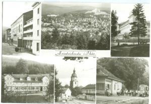 Germany, Friedrichroda i. J hur, 1984 used real photo Postcard