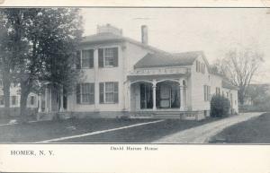 Homer, Cortland County NY, New York - David Harum House - pm 1916 - UDB