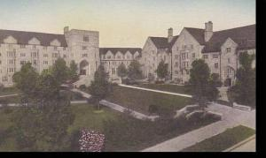 Indiana Bloomington Mens Residence Center West & North Hall Indiana Universit...