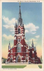 New Hampshire Manchester Saint Marys Church
