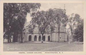 New York Poughkeepsie Chapel Vassar College Albertype