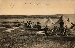 CPA AK Au Maroc Femmes Senegalaises au campement MAROC (688418)