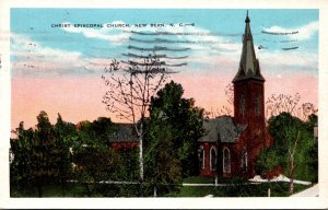 North Carolina New Bern Christ Episcopal Church 1931