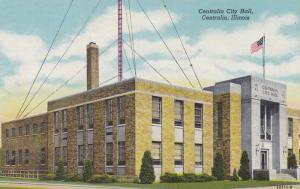 Exterior, Centralia City Hall,Centralia, Illinois,00-10s