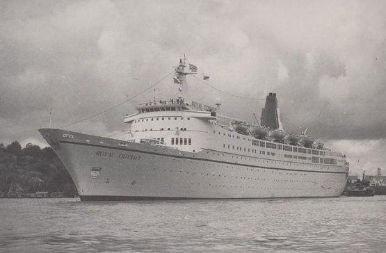 SS Royal Odyssey Cruise Line Postcard HipPostcard - Royal odyssey cruise ship