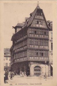 France Strasbourg Maison Kammerzell