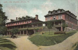 ALTOONA, Pennsylvania, 1900-1910s; City Hospital