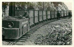 Railroad, Ore Train, Kennett, California, J.H. Eastman, RPPC