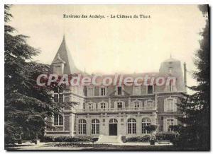 Old Postcard nearby Des Andelys Le Chateau Du Thuit