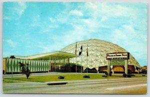 Virginia Beach VA~Alan B Shepard Civic Convention Center~The Dome~1960s Postcard